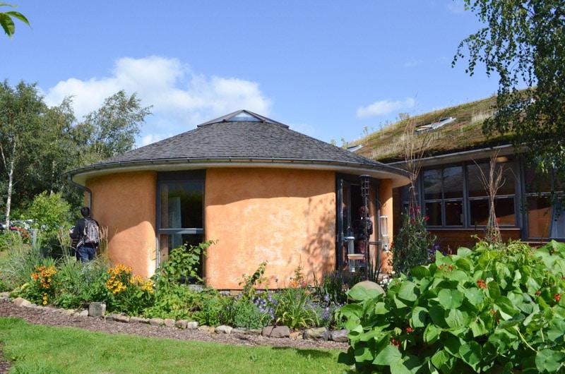 casa ecologica de paja