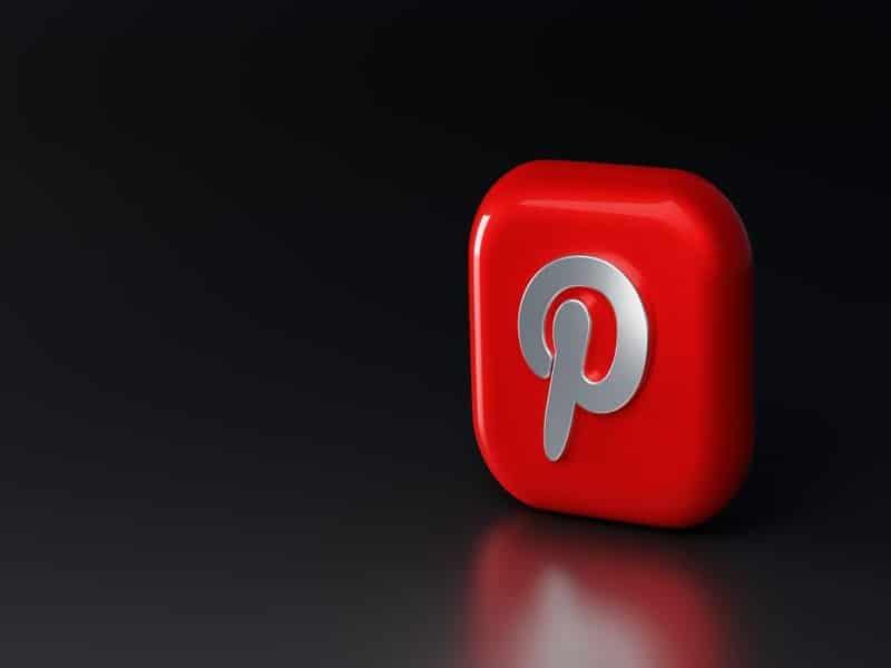 Símbolo de Pinterest